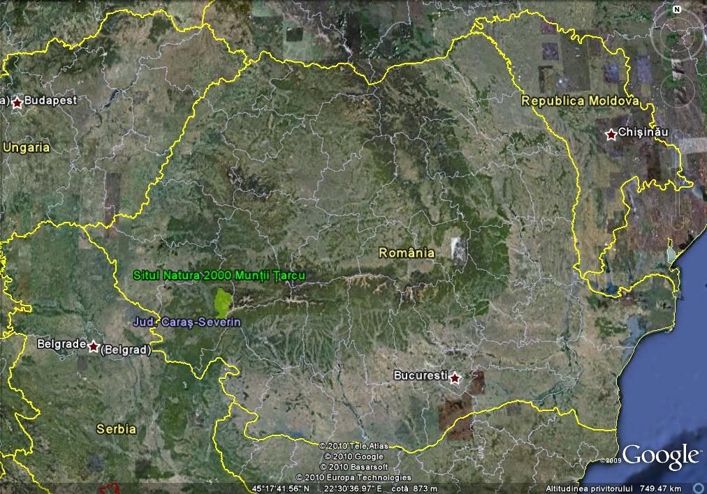 Situl Natura 2000 Munţii Ţarcu